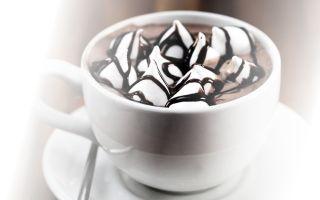 Что нужно для горячего шоколада с маршмеллоу