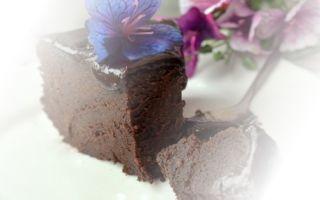 Как сделать влажный пирог с какао