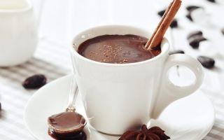 Как сделать горячий шоколад по рецепту из порошка какао