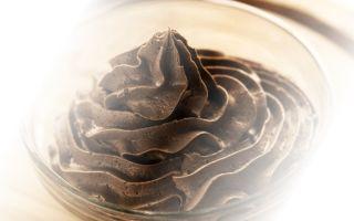 Способы приготовления шоколадного крема Шарлотт