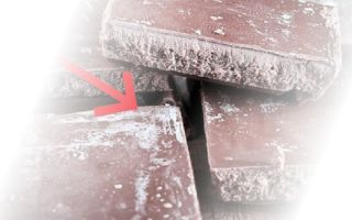Что такое белый налет на шоколаде