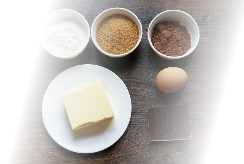 ингредиенты для брауни