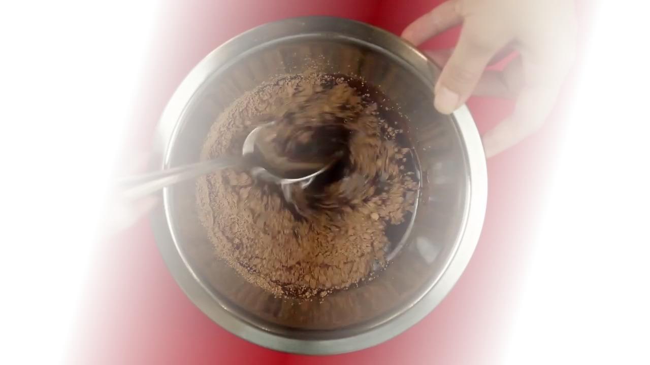 Вегетарианский шоколадный блинчик